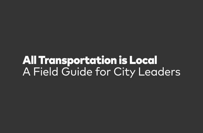 All Transportation is Local for TransitCenter